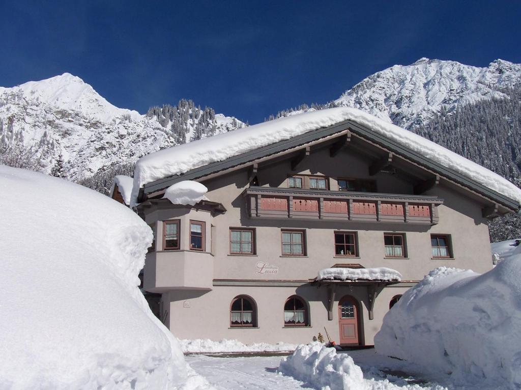 Landhaus Luzia during the winter
