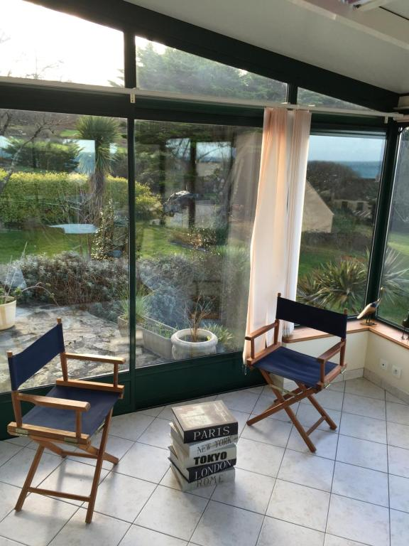 vacation home maison vue sur mer digosville france