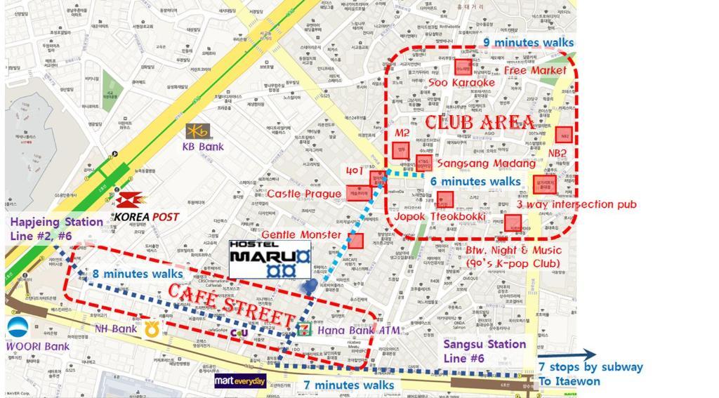 Maru Hostel Hongdae Seoul Updated 2018 Prices