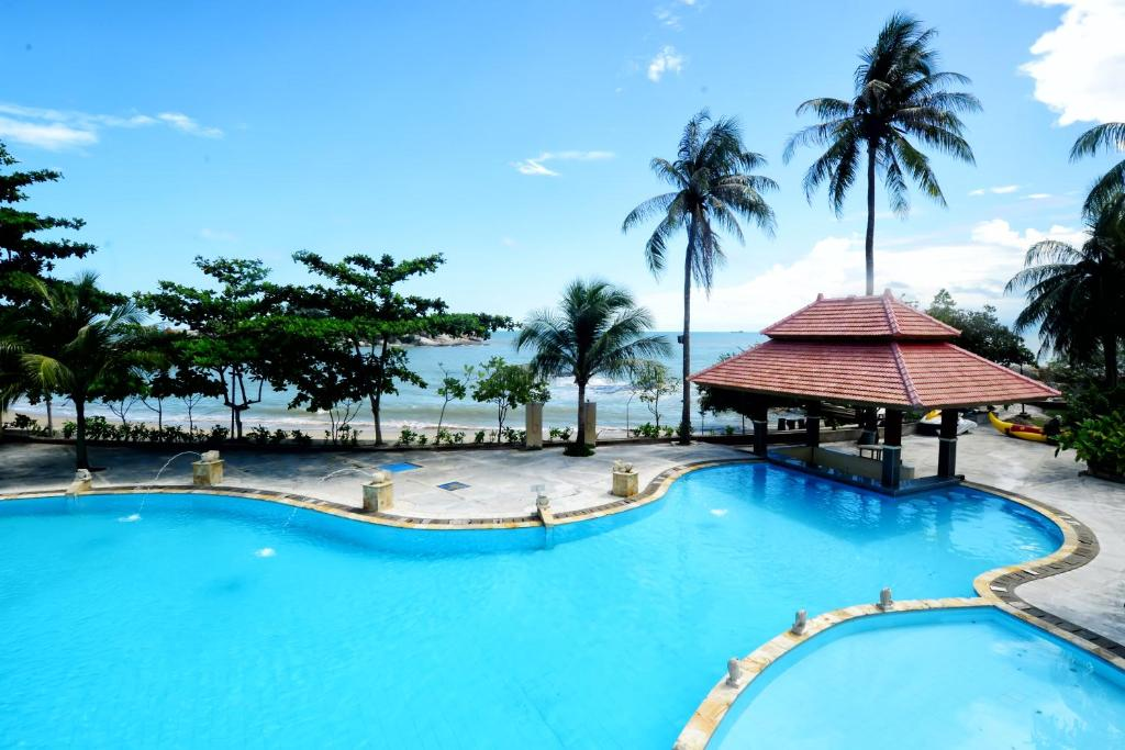 Parai Beach Resort Bangka Parai Tenggiri Indonesia