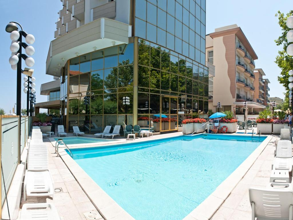 Hotel Diplomat Palace Италия Римини  Bookingcom