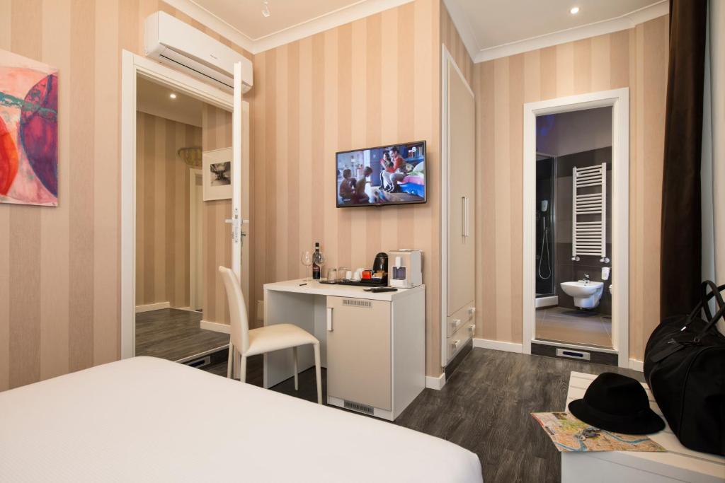 TV o dispositivi per l'intrattenimento presso San Pietro Suites