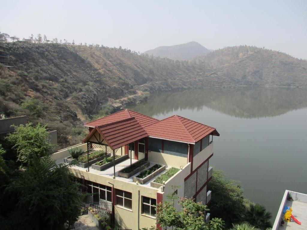 A bird's-eye view of Asham Africa Hotel