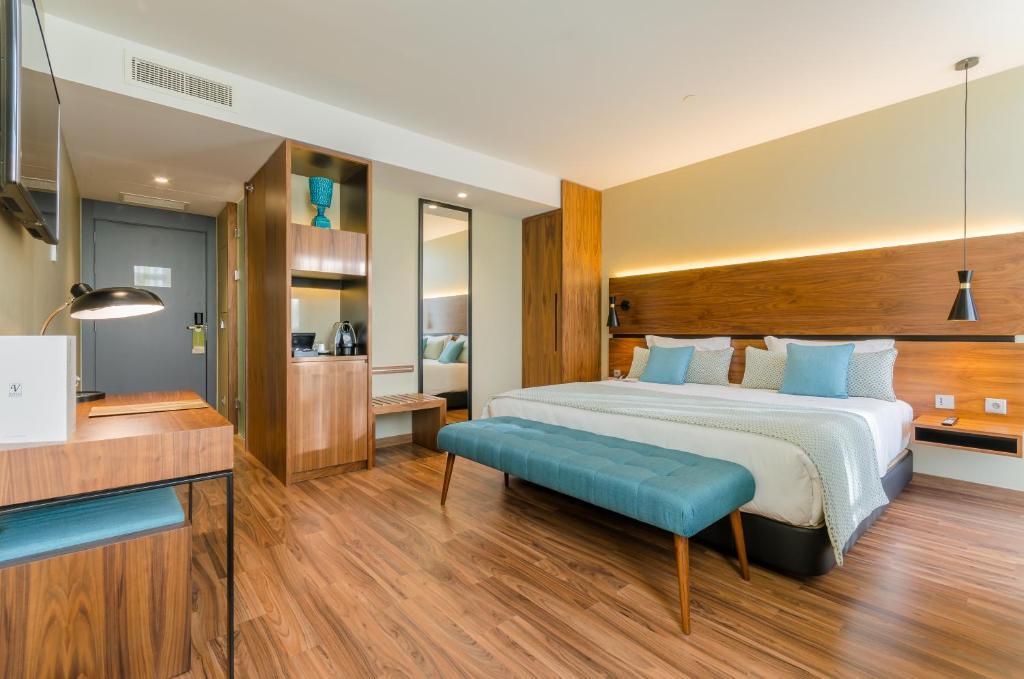 Cama o camas de una habitación en Vincci Liberdade