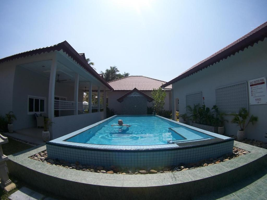 The swimming pool at or near Langkawi Chantique