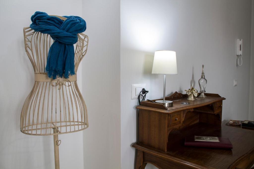 Ein Bett oder Betten in einem Zimmer der Unterkunft Da Vinci