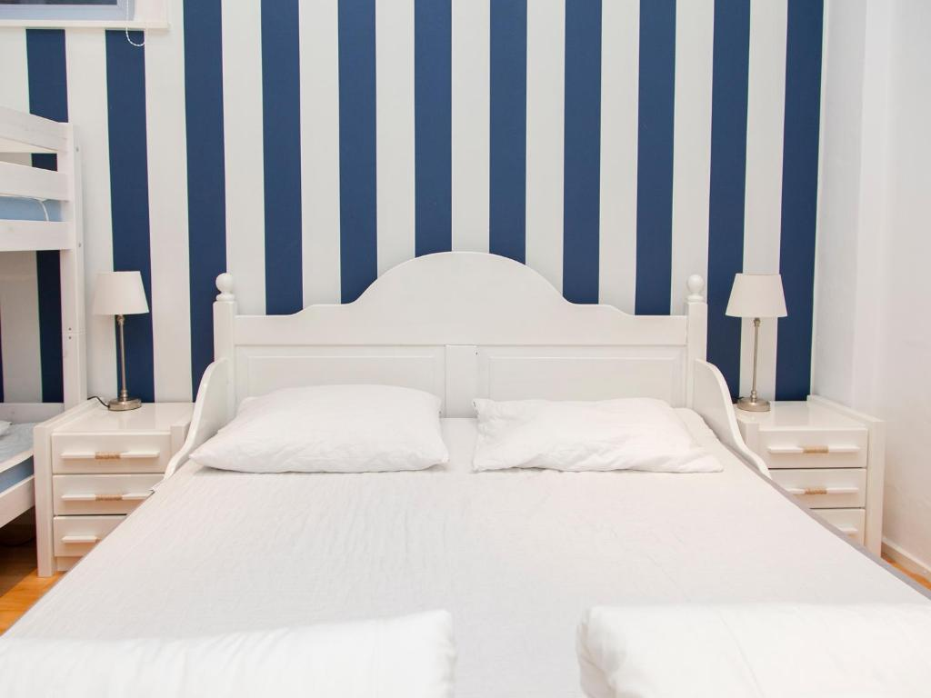 Ein Bett oder Betten in einem Zimmer der Unterkunft Appartementen Zandvoort