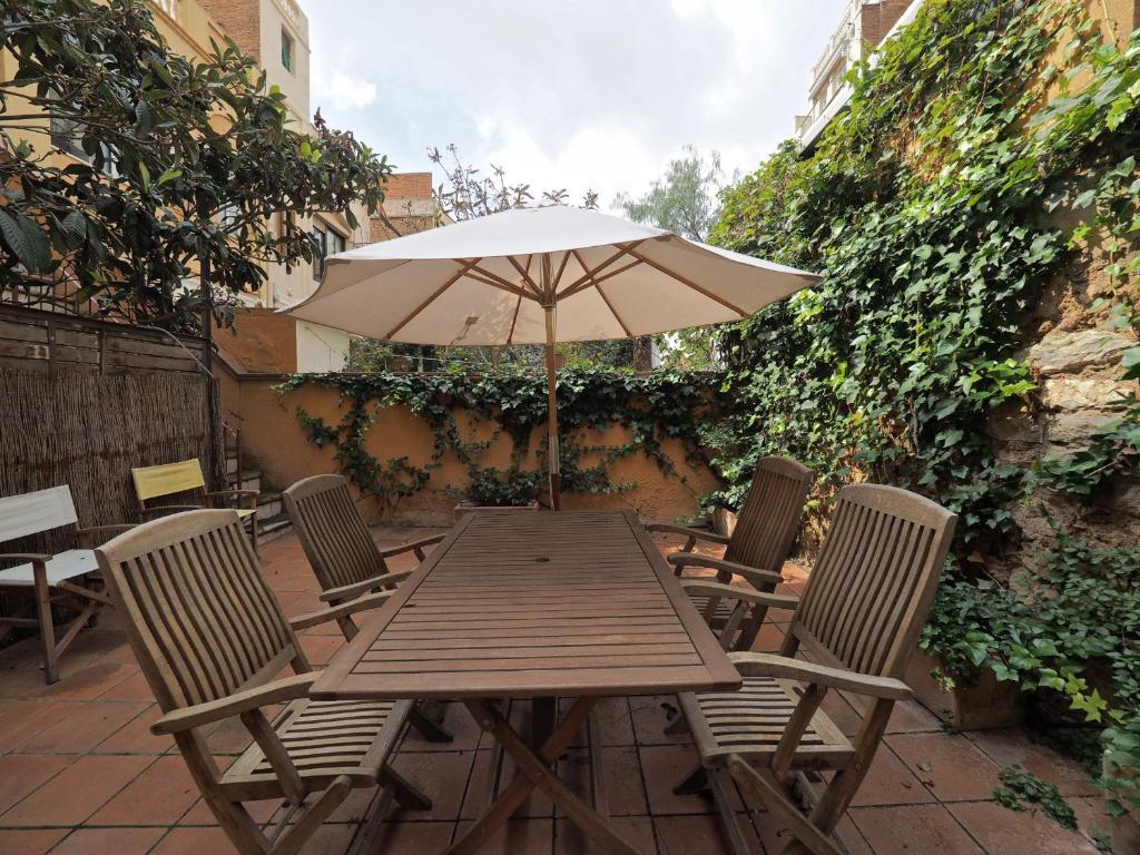 apartment gracia terrace design, barcelona, spain - booking