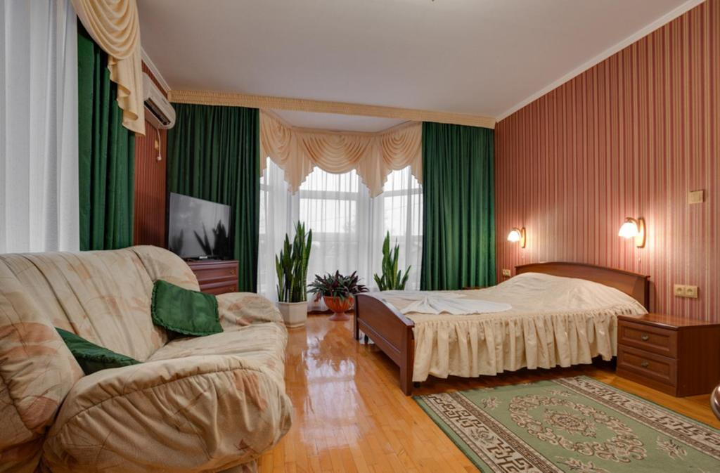 Кровать или кровати в номере Guest house Oliva