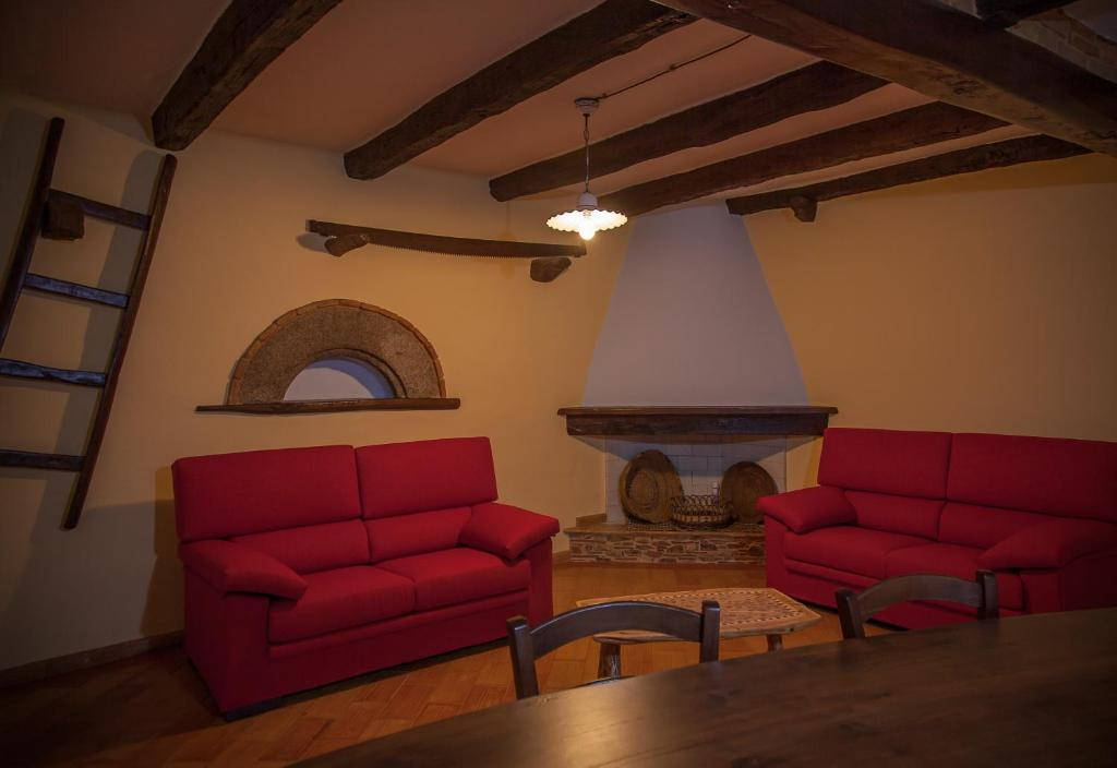 Area soggiorno di Antico Restauro