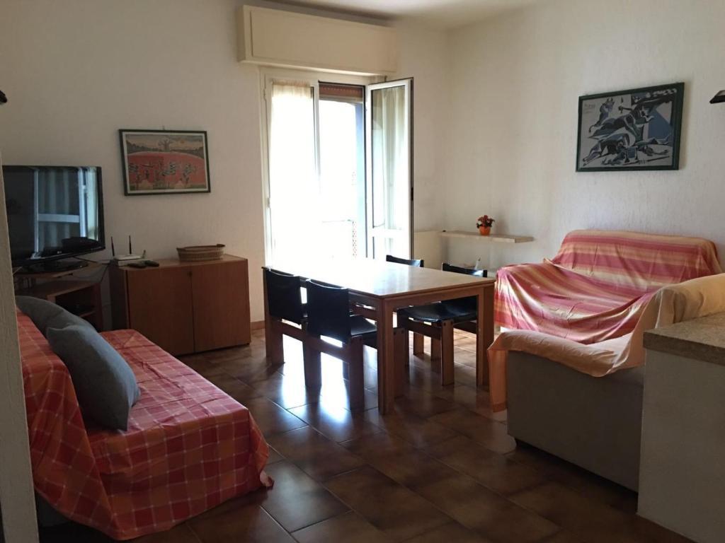 A seating area at La casa di Lu
