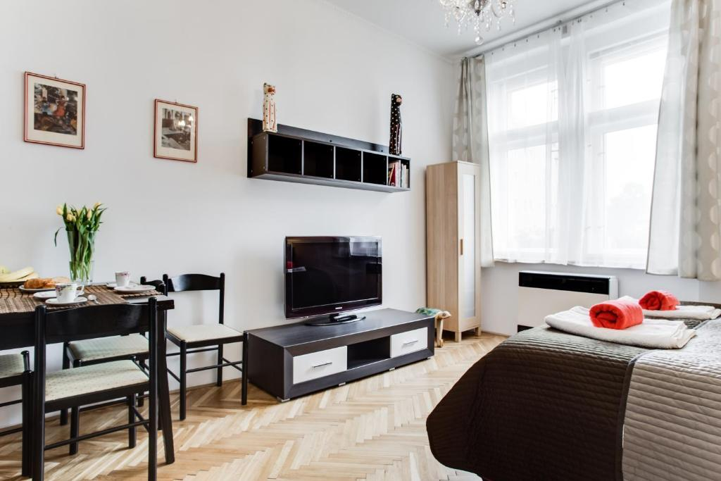 Comfy Bedroom Apartment Prague Czech Republic Booking Com