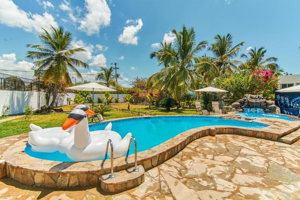 villa marina in boca chica dominican republic. Black Bedroom Furniture Sets. Home Design Ideas
