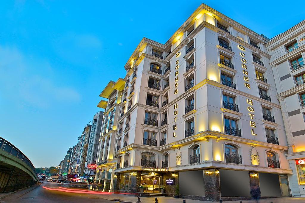 Corner hotel laleli istanbul turkey for Hotels in istanbul laleli area