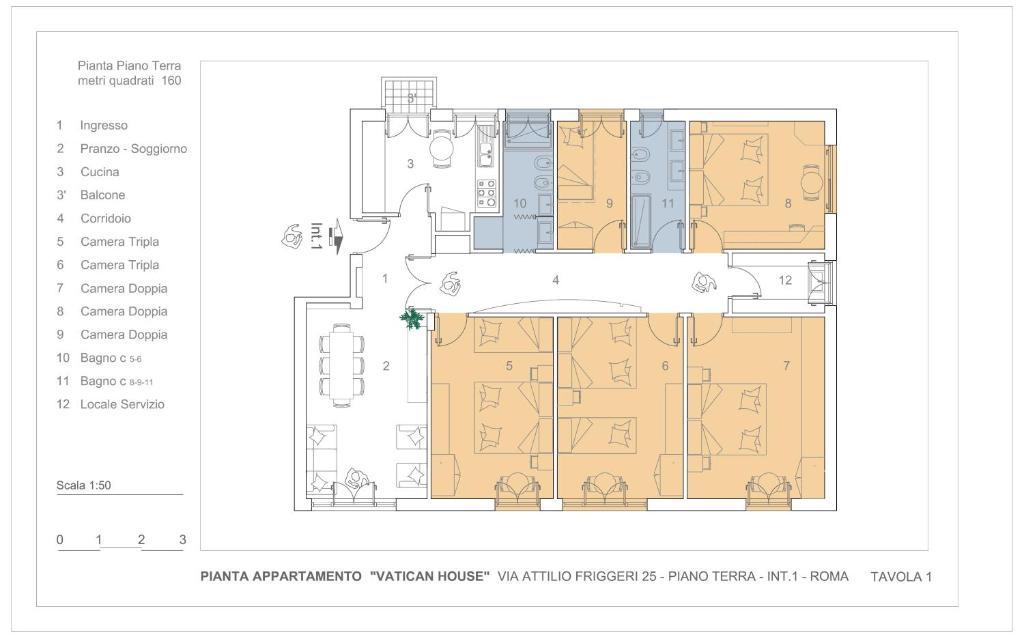 appartamento vatican house (italia roma) - booking.com - Cucina Kosher Doppi Elettrodomestici