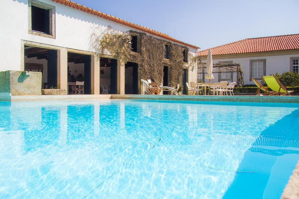The swimming pool at or near Liiiving in Ofir | Manor Pool House