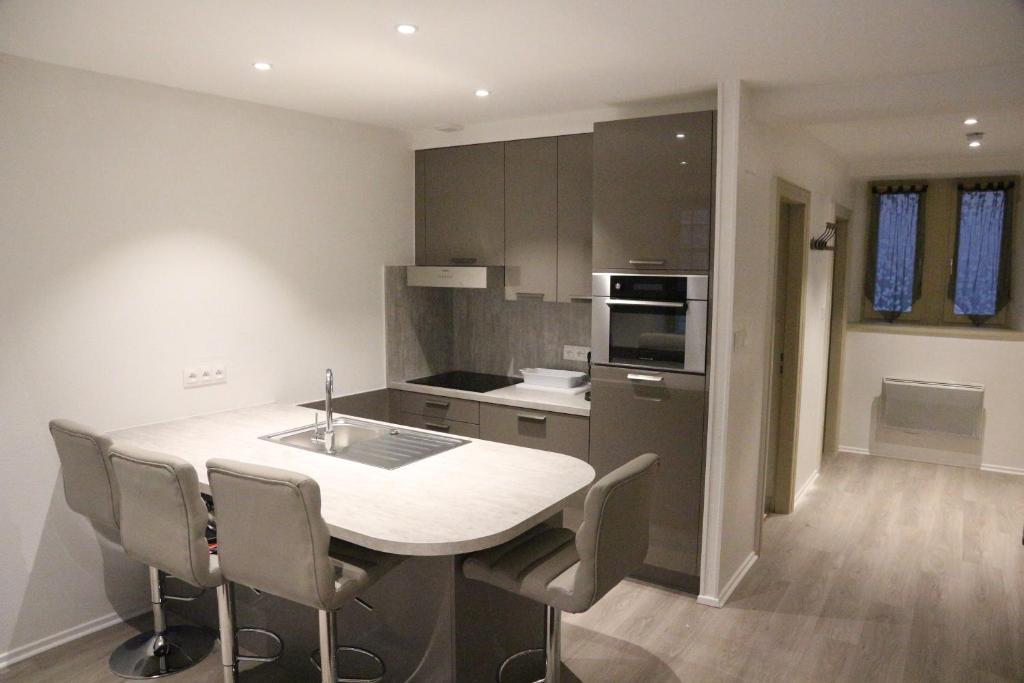 Les dentelles appartement meubl design petite france - Logement etudiant strasbourg meuble ...