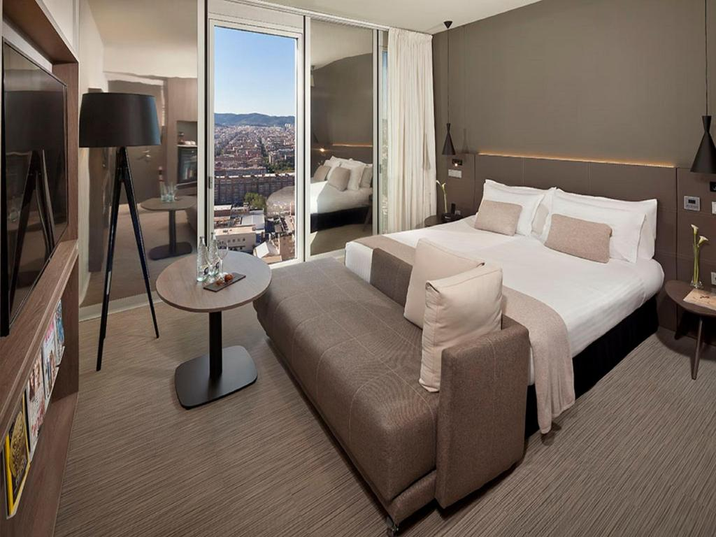 Camere Familiari Barcellona : The level at melia barcelona sky barcellona u prezzi aggiornati