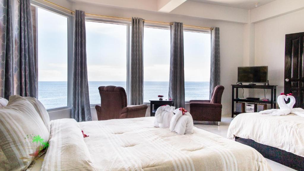 Номер в Jaynet Oceanview Resort