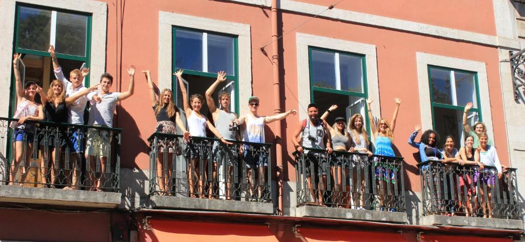 Staff members at Lookout Lisbon Hostel