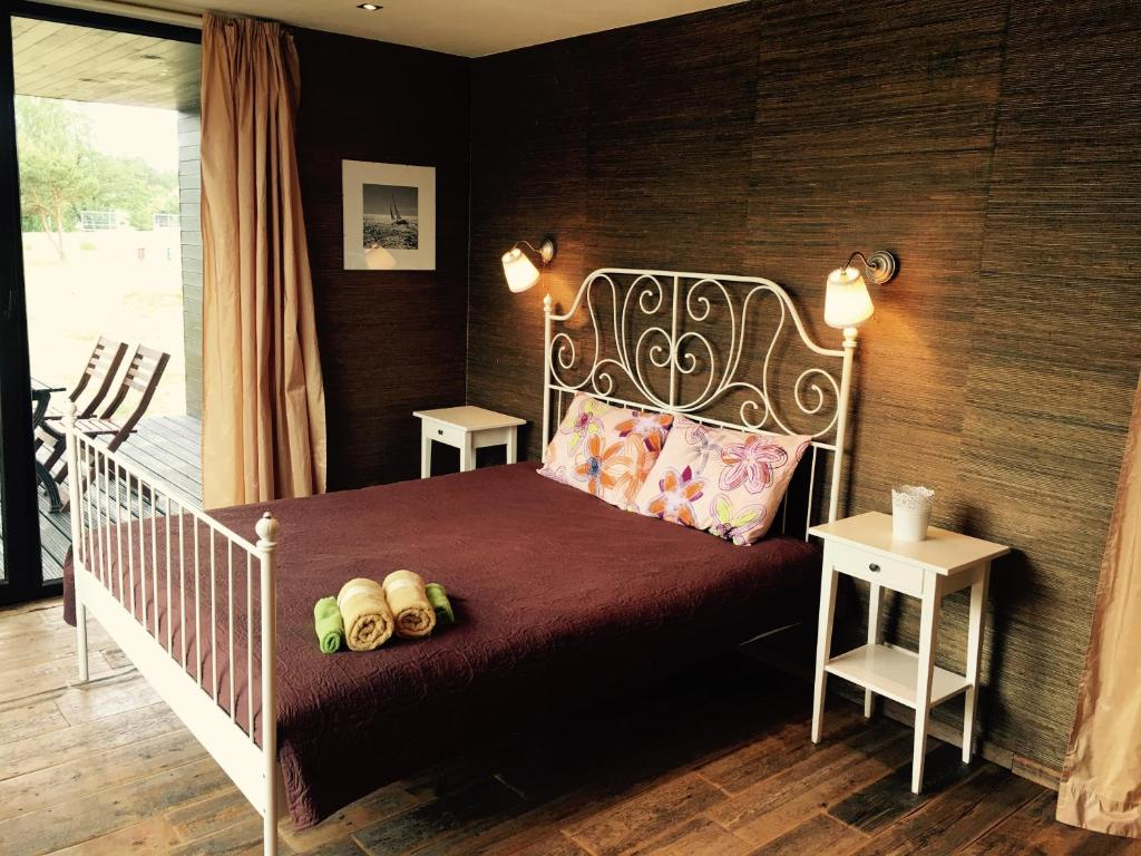 A room at Pāvilosta Marina