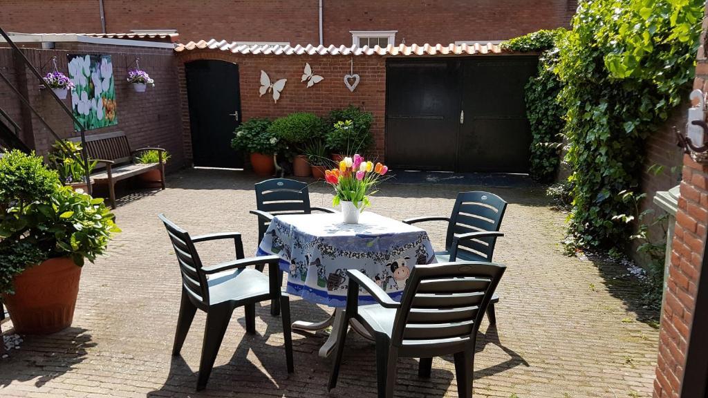 Een patio of ander buitengedeelte van Appartement in Zandvoort