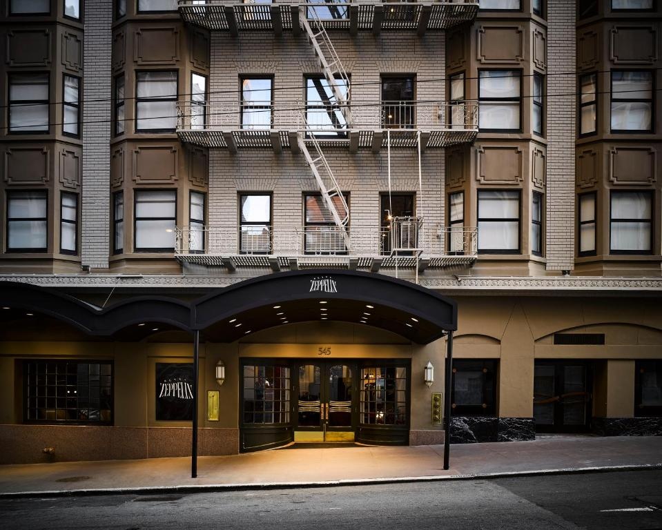 Hotel Zeppelin San Francisco Reserve Now Gallery Image Of This Property