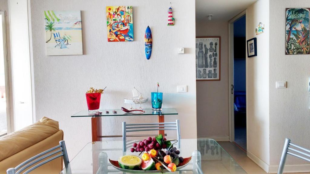 Una cocina o zona de cocina en San Alfonso del Mar Goleta
