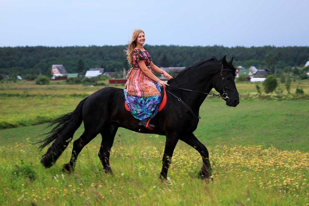 Horseback riding at the inn or nearby