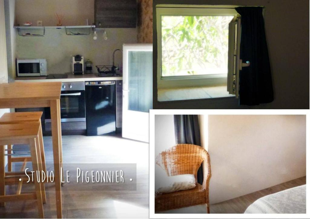 A kitchen or kitchenette at Le Pigeonnier