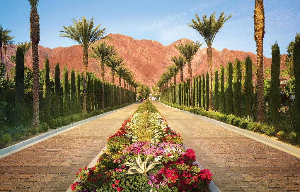 A garden outside La Quinta Resort & Club, A Waldorf Astoria Resort
