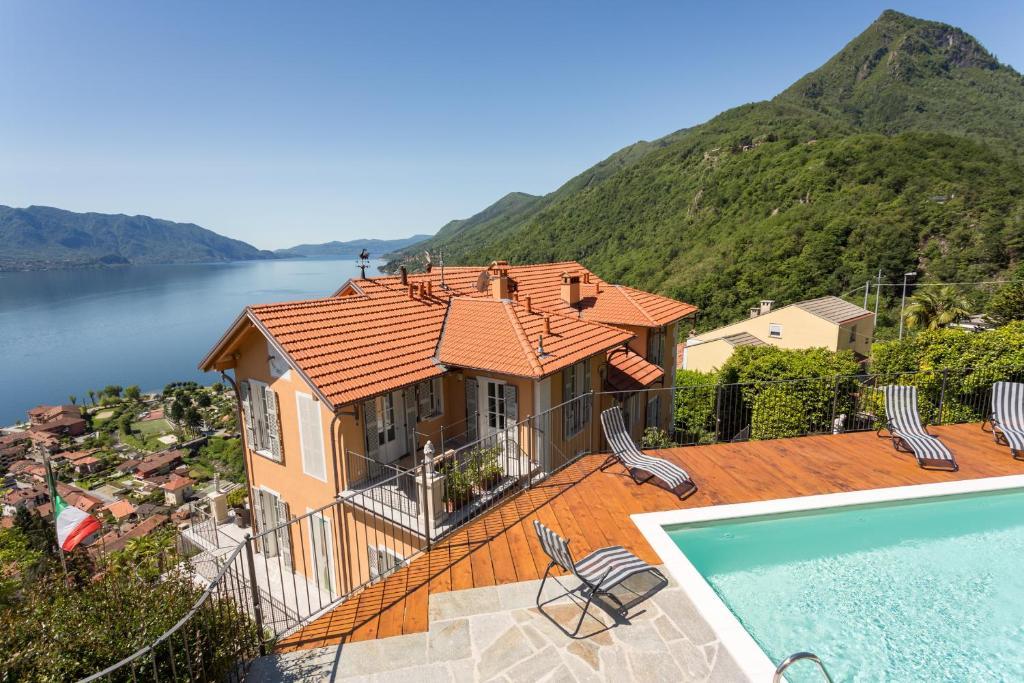 villa paradiso cannero riviera sealhulgas arvustused. Black Bedroom Furniture Sets. Home Design Ideas