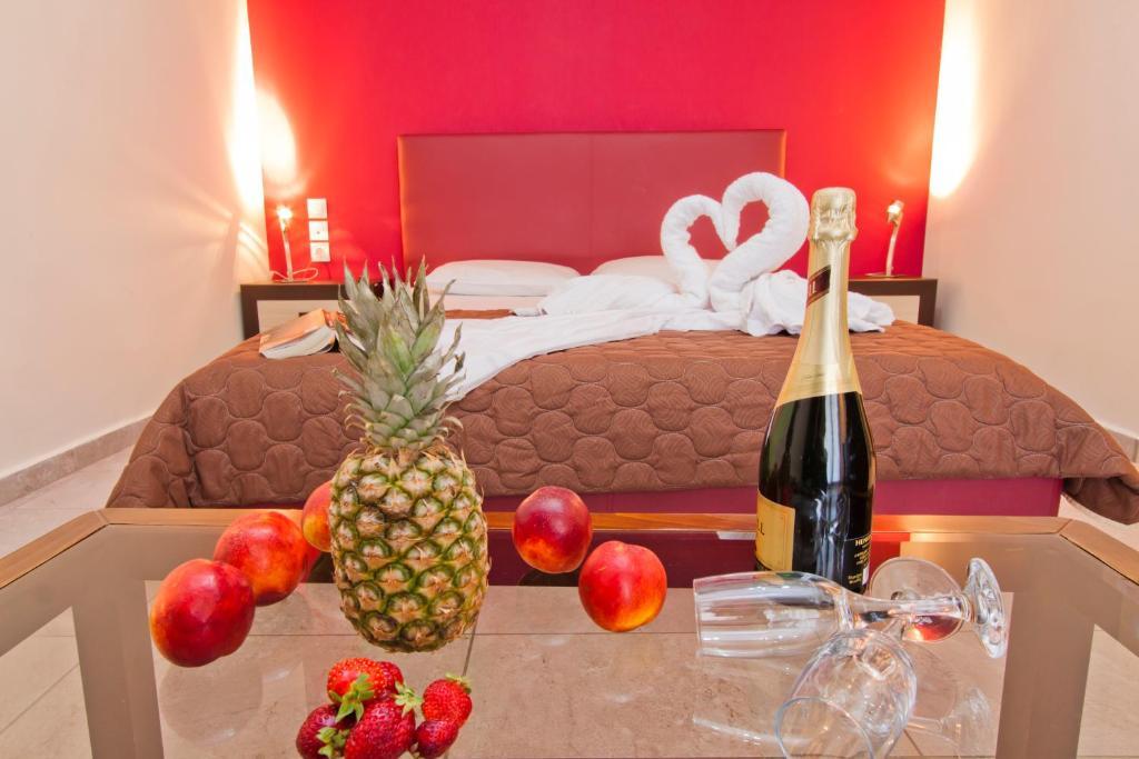 Ένα ή περισσότερα κρεβάτια σε δωμάτιο στο Imperial Studios