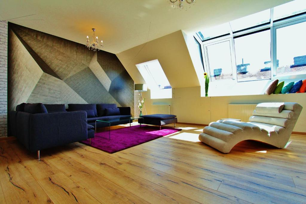 Farbiges Modernes Appartement Hong Kong – monref.net