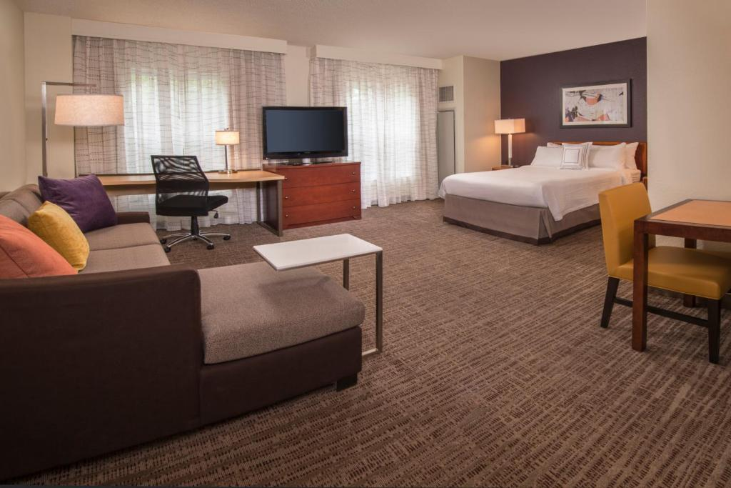 A television and/or entertainment center at Residence Inn Alexandria Old Town/Duke Street