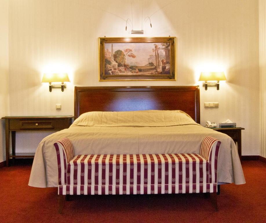 Кровать или кровати в номере Boutique Art Hotel