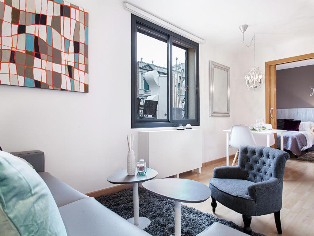 Apartment Rambla Paris Attic foto