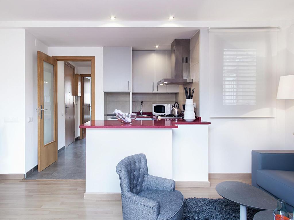Bonita foto de Apartment Rambla Paris Attic