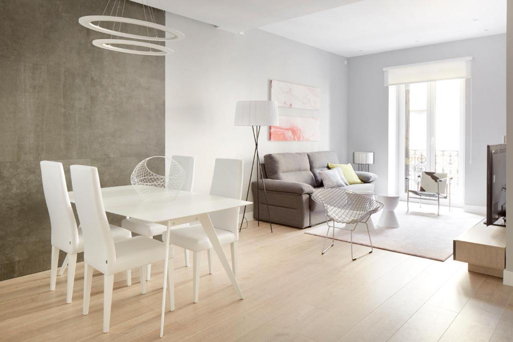 Zona de estar de Zabaleta Beach Apartment by FeelFree Rentals