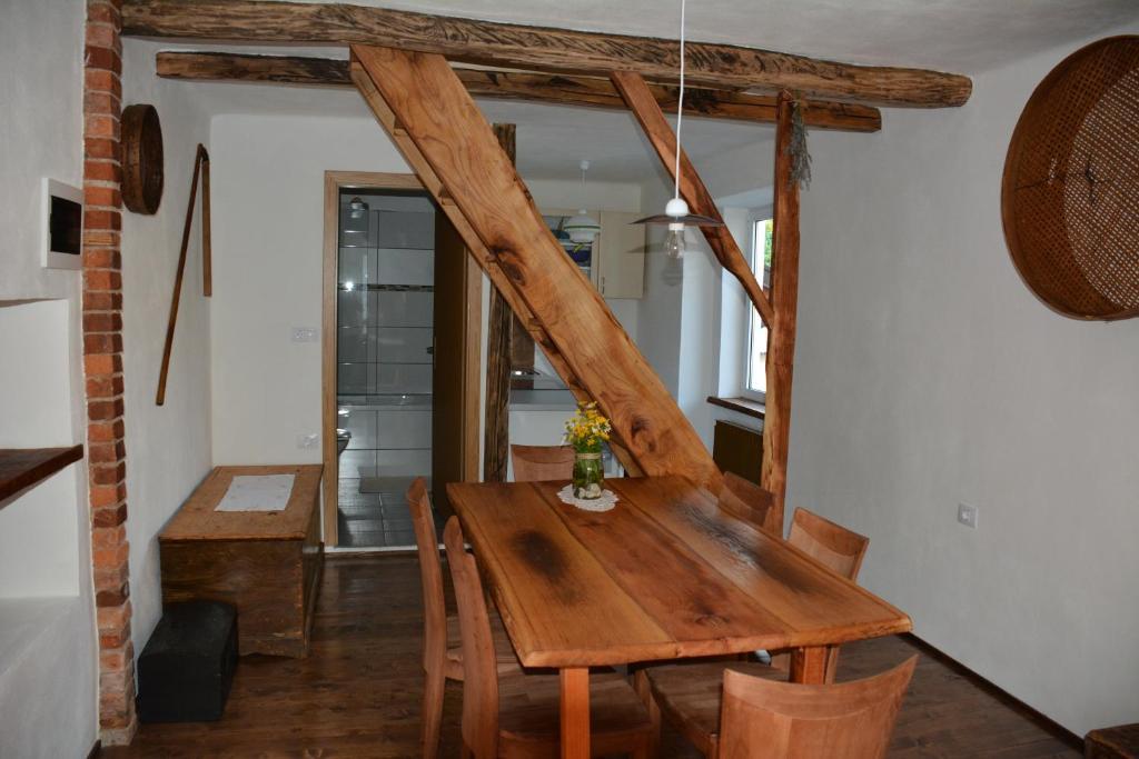 Area soggiorno di Apartments Cvetje