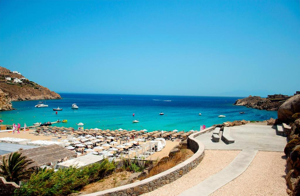 Best Island Beaches For Partying Mykonos St Barts: Vacation Home 70 Steps Super Paradise Mykonos, Super