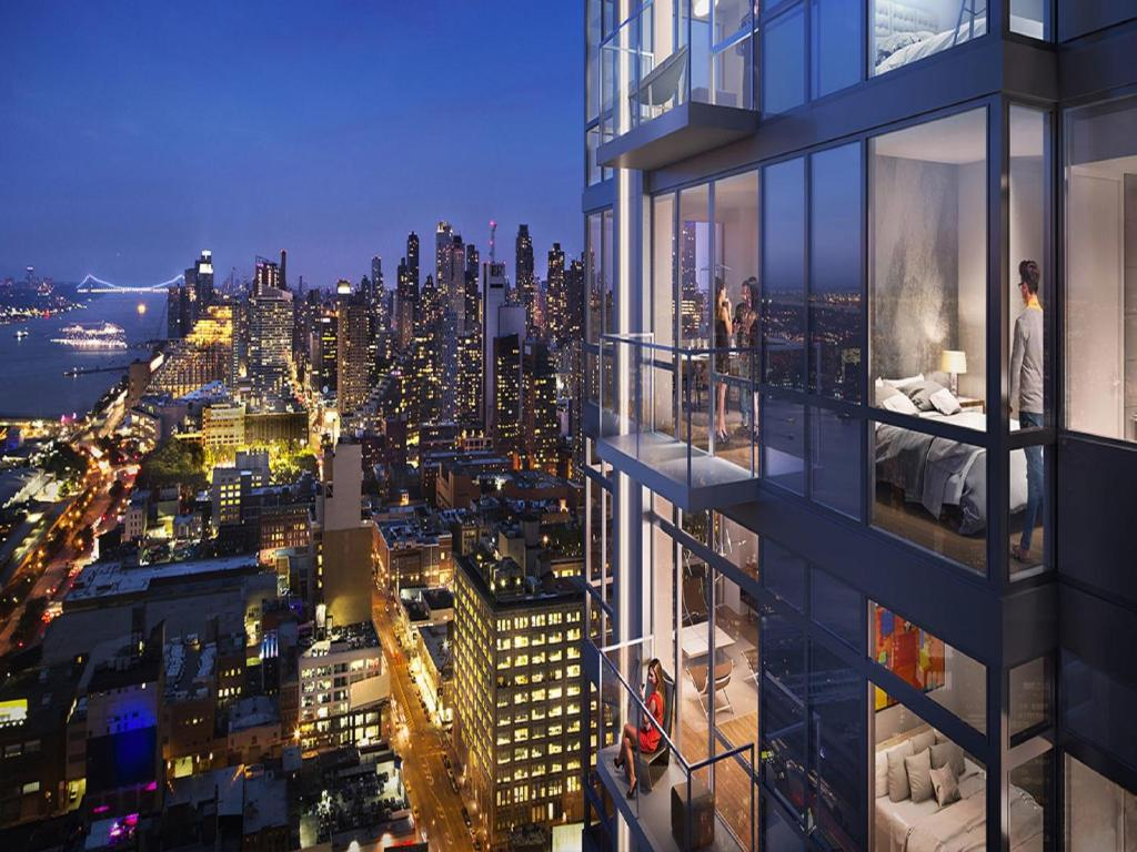 Luxury Apartments In New York City Manhattan Construction