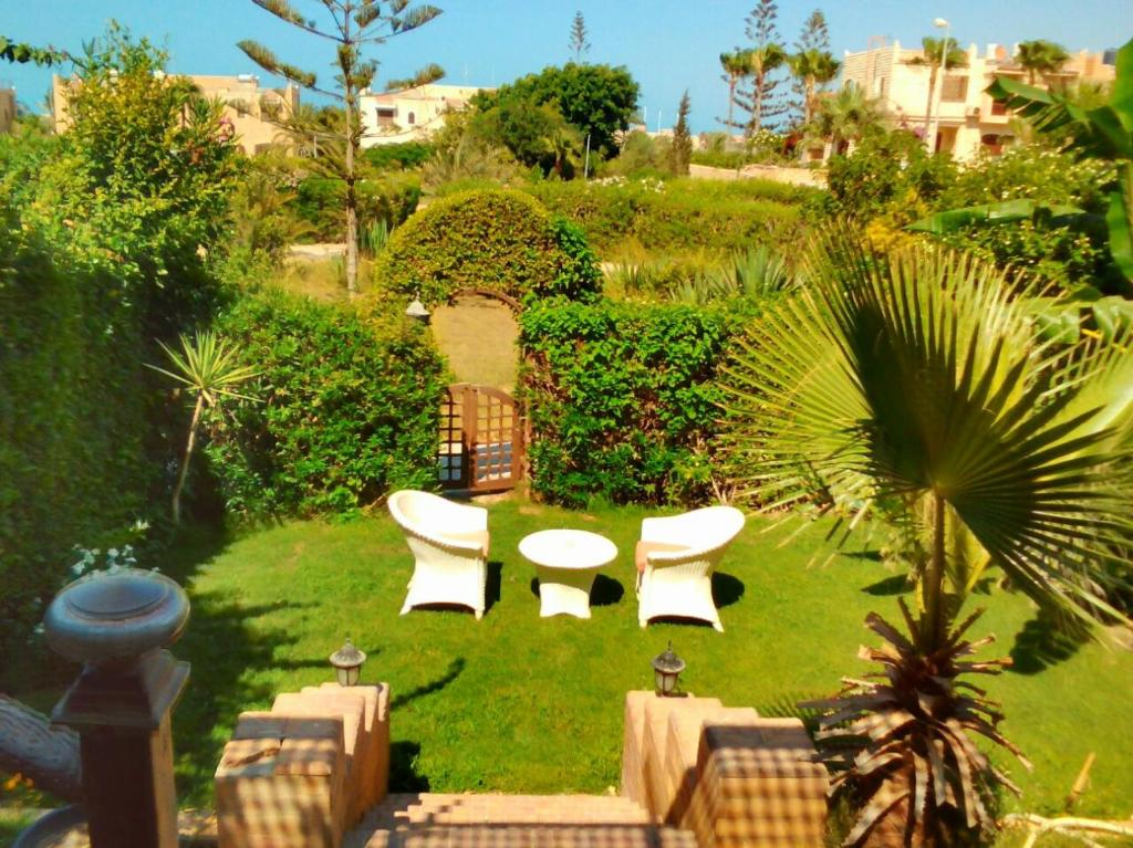 Three-Bedroom Chalet with Garden at, El Alamein, Egypt - Booking.com