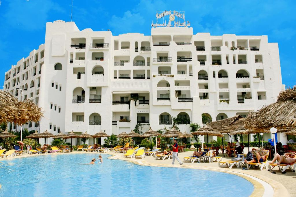 reservation hôtel yasmine beach hammamet