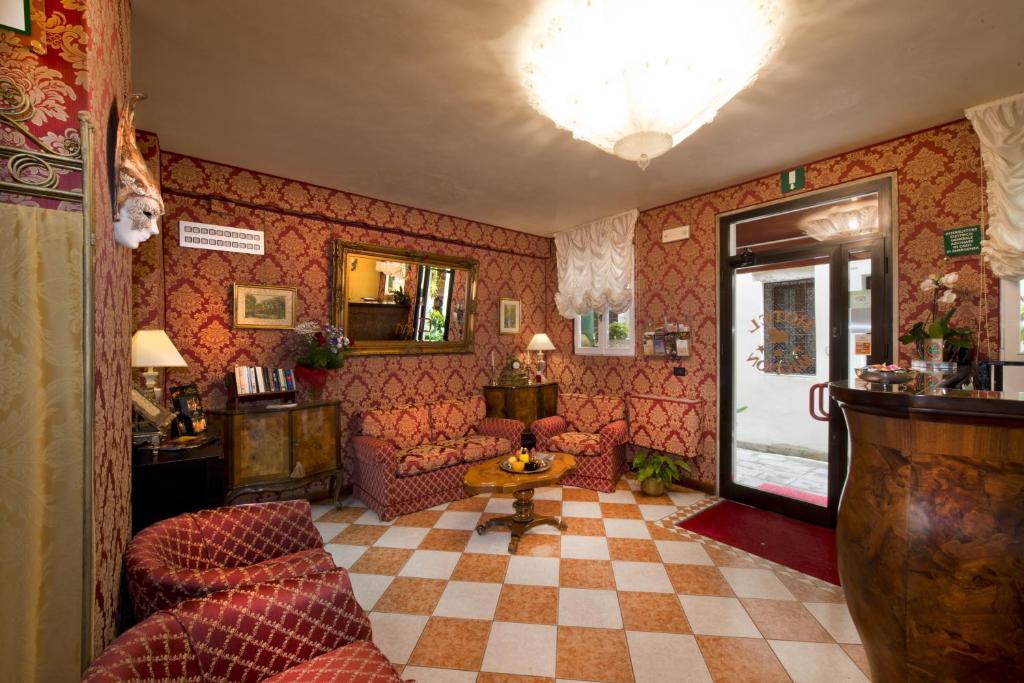Salone o bar di Hotel Mignon