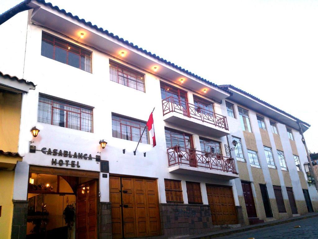 The facade or entrance of Hotel Casablanca