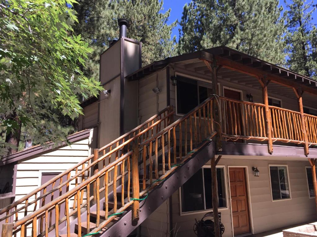 cabins log in wanders for and mascot woman bear summer img typical california cabin sale big wooden lake house