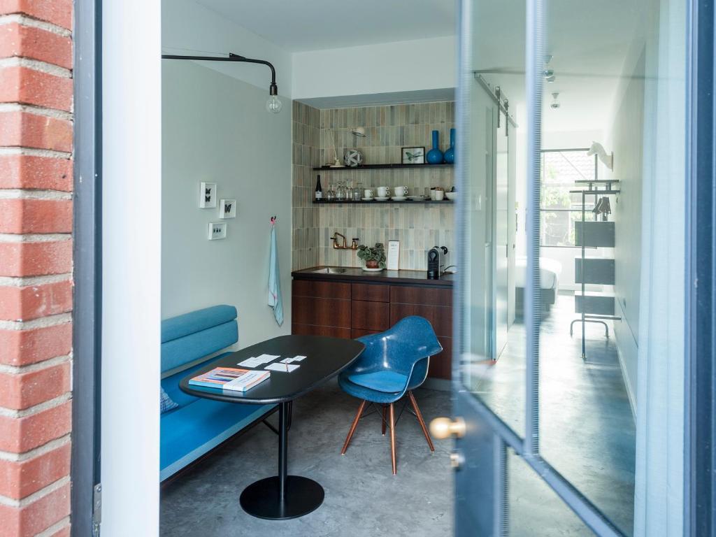 Küche/Küchenzeile in der Unterkunft Stout & Co.