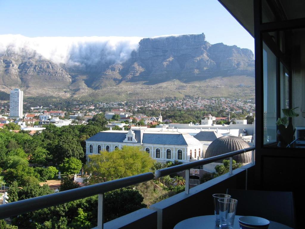 A balcony or terrace at Cape Breaks