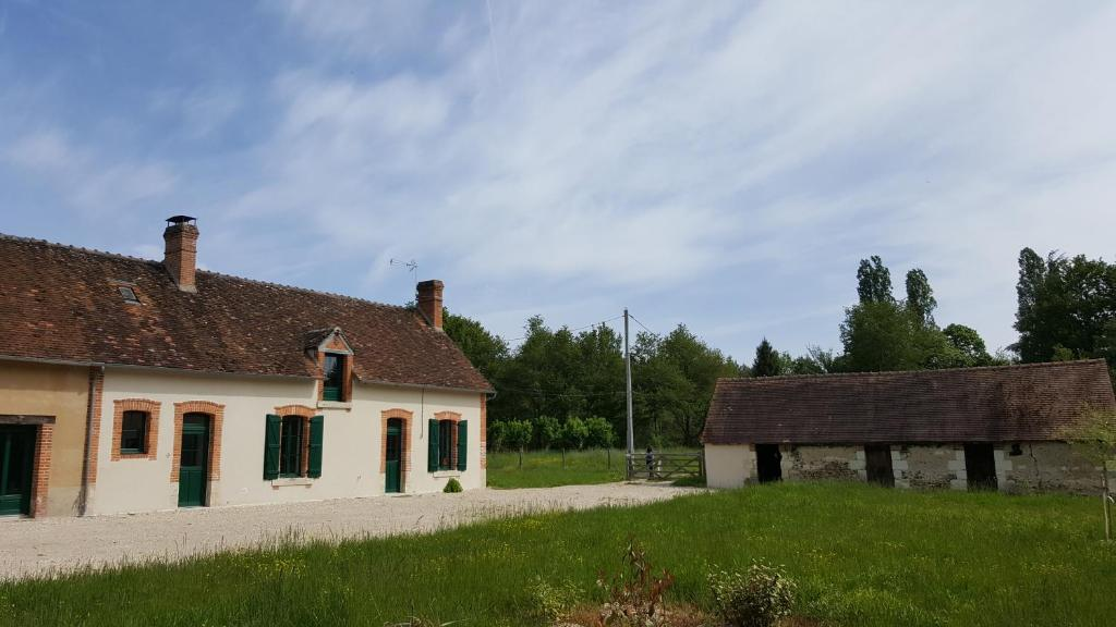 A garden outside Les Brosses